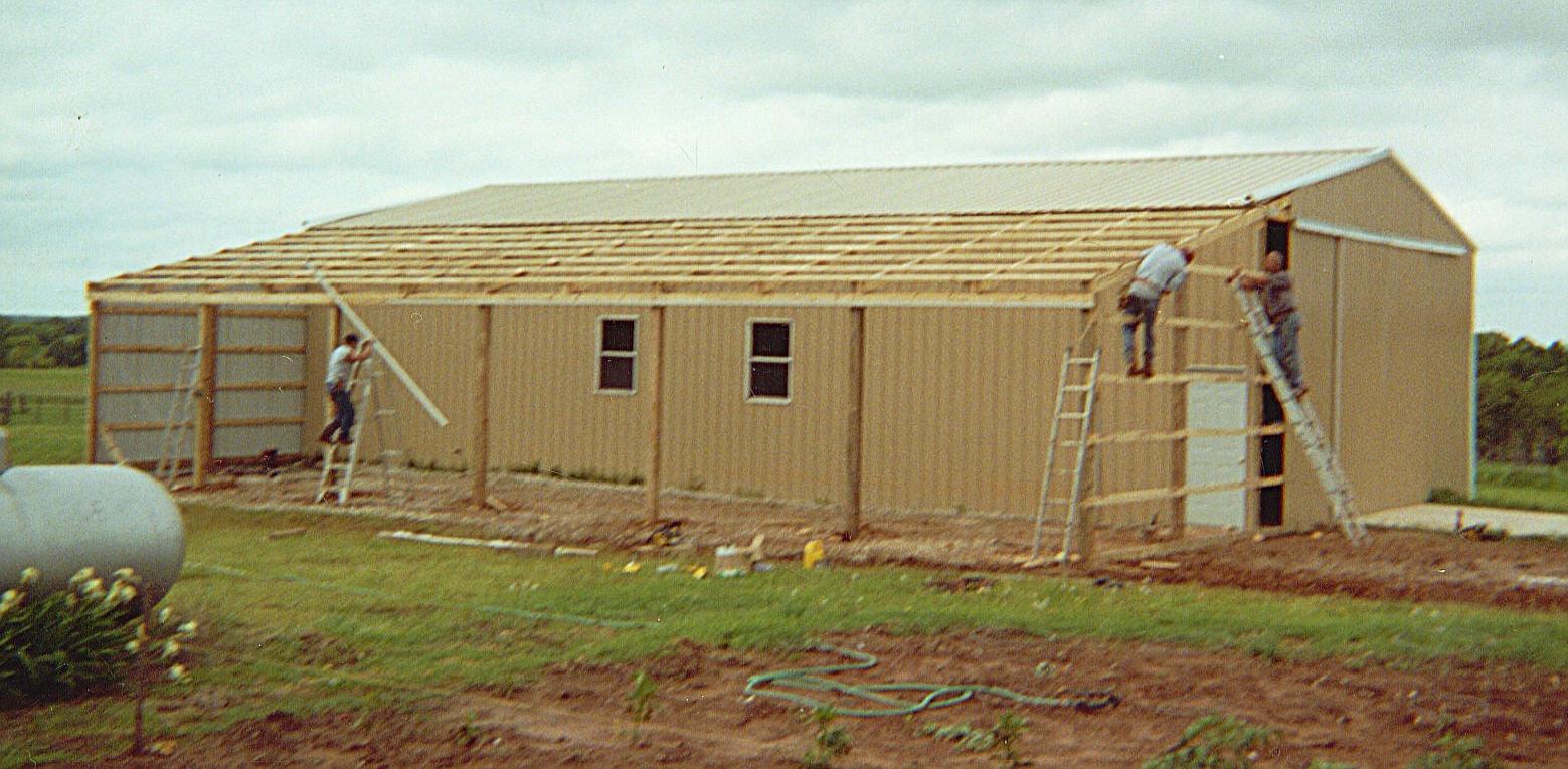 wiki wikipedia pole barn barns building framing